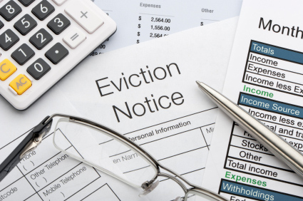 Residential Tenancy Notice of Eviction Document
